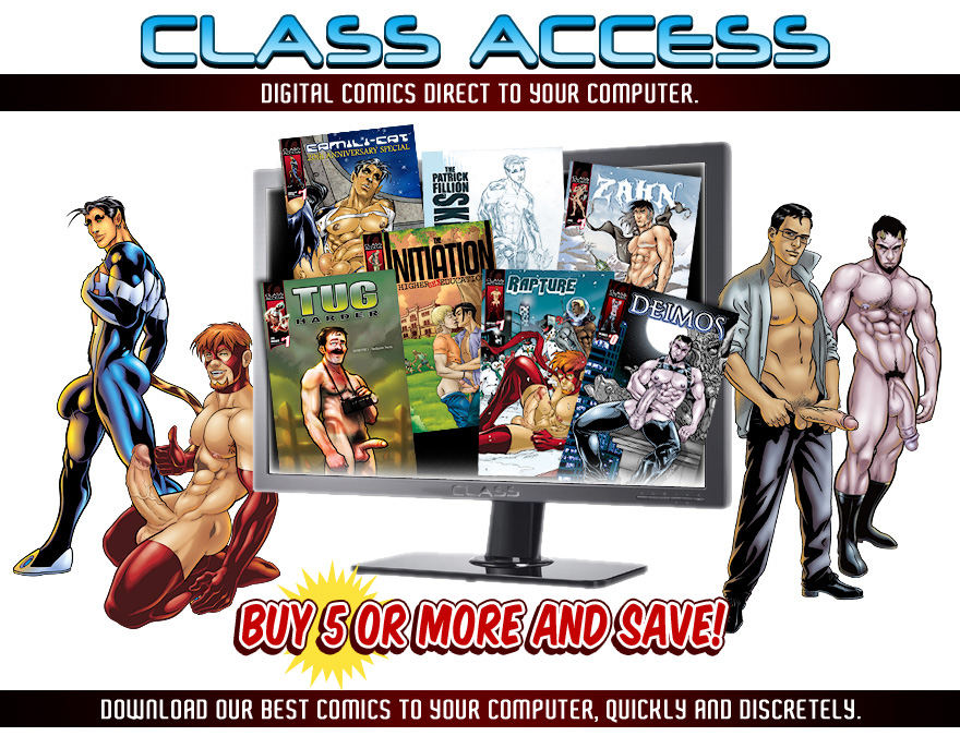 Class Access Digital Comics!