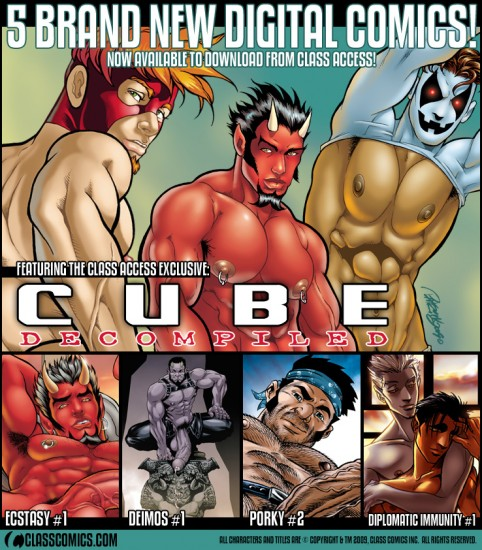 5 new CLASS ACCESS digital comics now available!