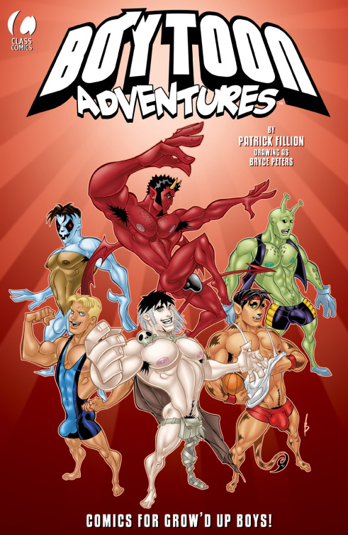 Boytoon Adventures  #1 -  Front Cover