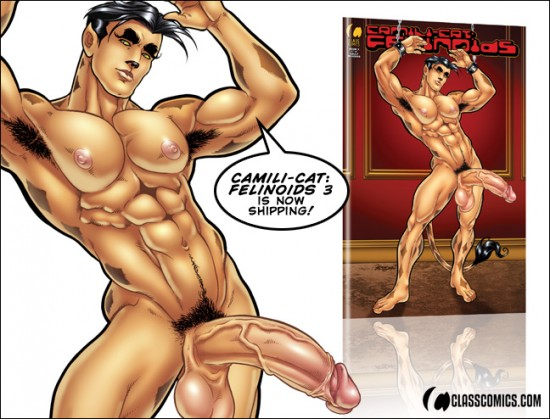 Camili-Cat: Felinoids #3 is all PATRICK FILLION in his sexy, classic art style! Now shipping from Class Comics.