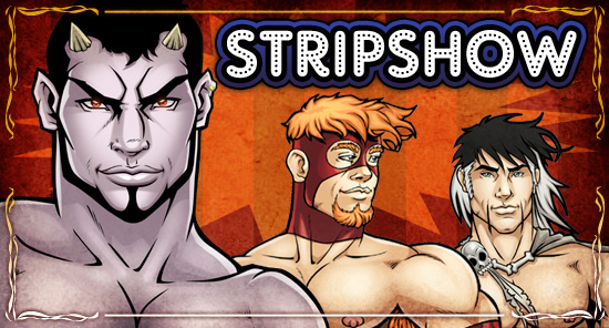 STRIPSHOW: your free monthly Class Comics online comic strips! Stories by Patrick Fillion, art by Leon de Leon!