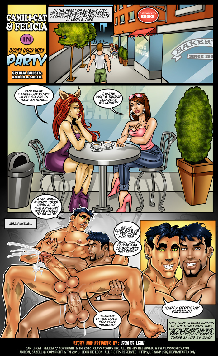 Comic erotic gay