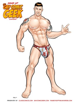 Gay Comic Geek Nice! Not the Official Entry Photo!