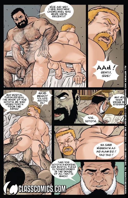 The Pornomicon  Pdf  Class Comics-4851