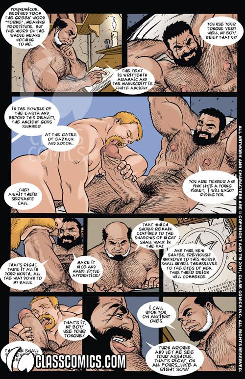 The Pornomicon  Print  Class Comics-6966