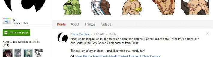 Visit our Class Comics Google+ Page!