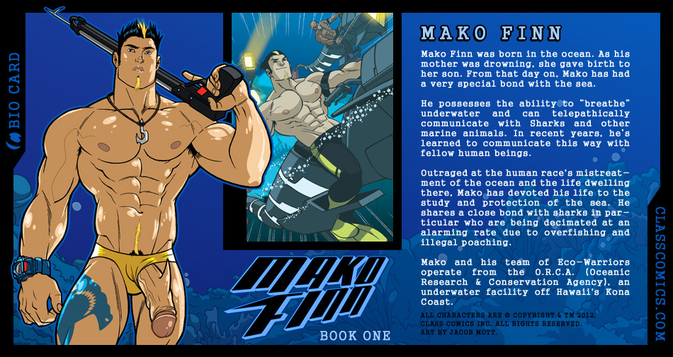 Whos Who In Mako Finn 1  Class Comics-1244