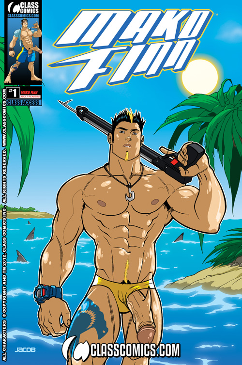 muscle comic naked gay