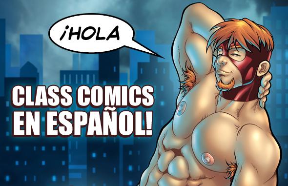 Cómics Eróticos Gay en Espano!