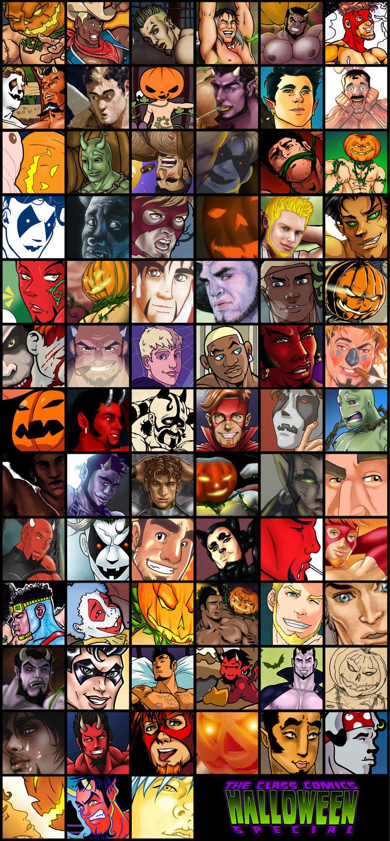 The Halloween Crew!