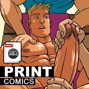 Traditional Printed Comics