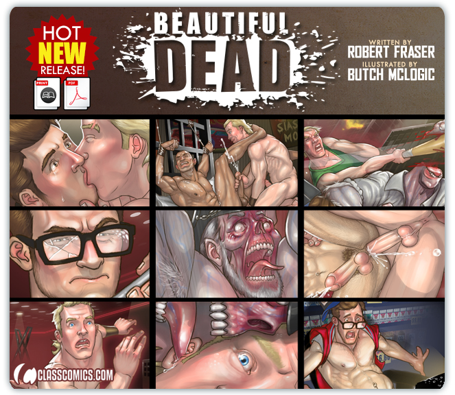 BEAUTIFUL DEAD #1 is now available in printed and digital editions from CLASS COMICS!