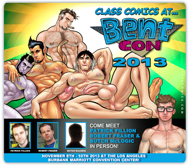 CLASS COMICS will be at BENT-CON 2013, November 8th - 10th, 2013!