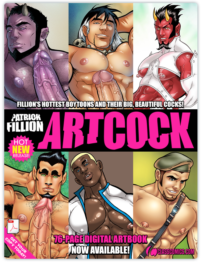 ARTCOCK by Patrick Fillion. A 76 page Digital Art Book!