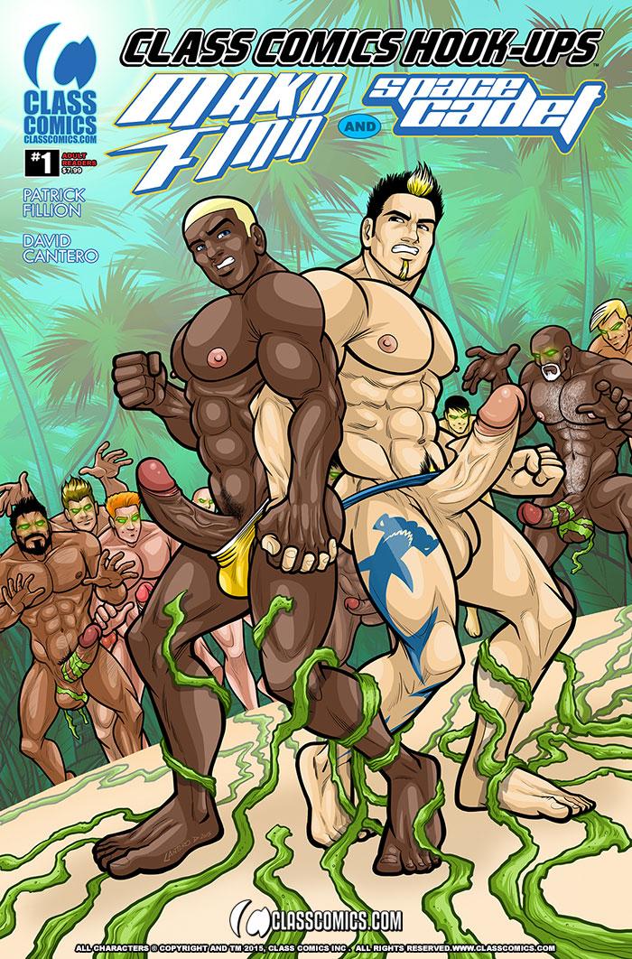 CLASS COMICS HOOK-UPS #1 - Cantero Cover Edition