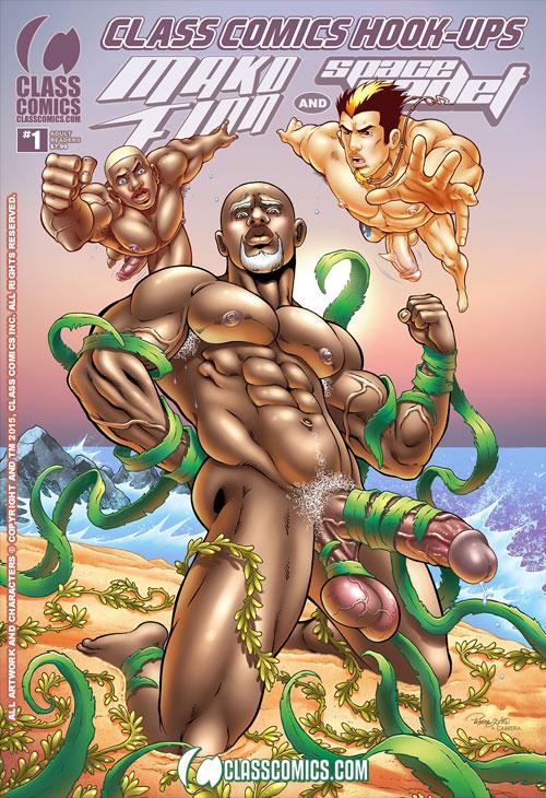 CLASS COMICS HOOK-UPS #1 -- the PATRICK FILLION Variant Cover. Coming Summer 2015 from Class Comics.