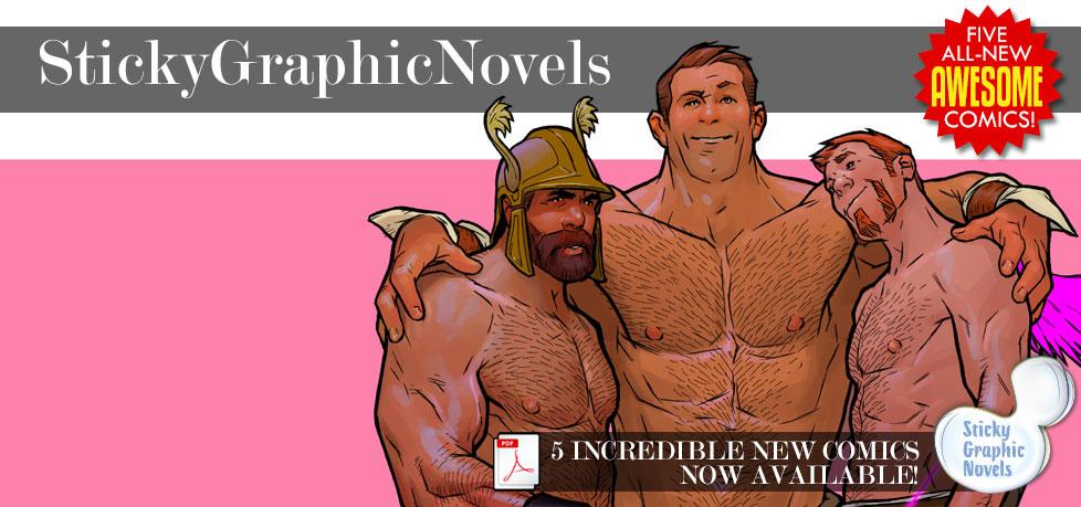 Sticky Graphic Novels