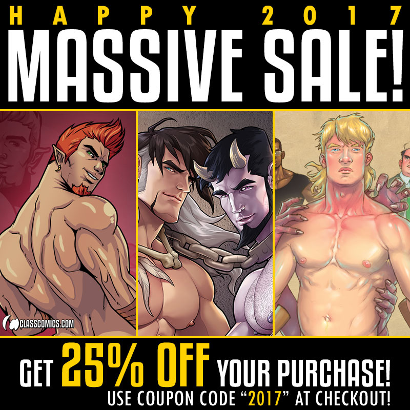 2017 is here at last, Class Comics Fans, and we're kicking this ...: http://www.classcomics.com/ccn/2017/01/happy-2017-massive-sale/