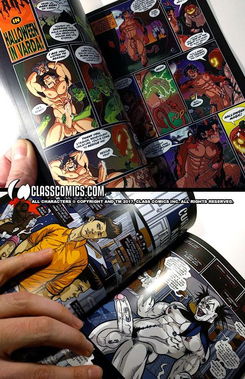 Class Comics Halloween Hauntings Volume One Is Here  Class Comics-4453