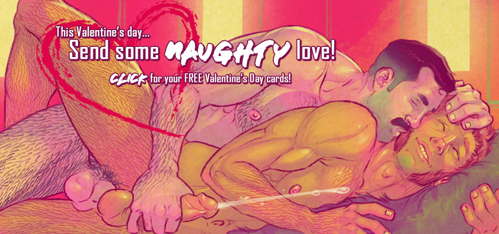 Send some NAUGHTY LOVE this Valentine's Day!