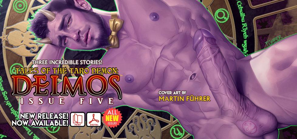 Deimos: Tales of the Taro Demon #5 is here!