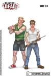 Gage and Hayden Strip Part 1!
