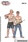 Gage and Hayden Strip Part 2!