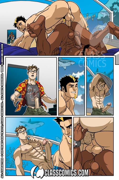 аниме комиксы гей