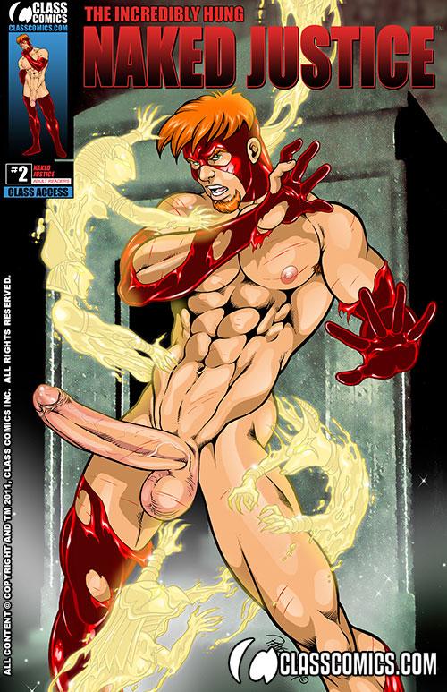 digital cartoon nude - Naked Justice #2 Digital Edition by Patrick Fillion