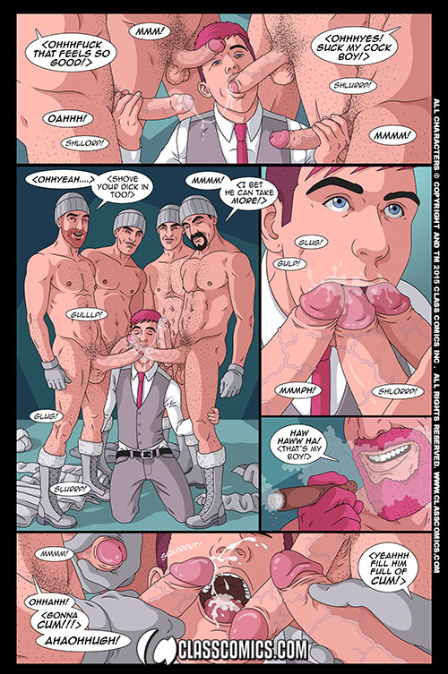Gay comic cock