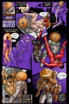 Jacko in Halloween Blitz with art by Michael Broderick!