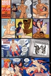 Naked Justice and Devilhound in Opposite Sides Part 1 by Leon De Leon! Your free erotic gay comic of the month!