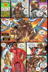 Space Cadet in Silent Alarm with art by Patrick Fillion! Your free erotic gay comic of the month!