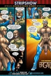 Space Cadet in I am Naked Justice with art by Patrick Fillion!