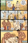 Zahn in One Man's Gratitude! Your free erotic gay comic of the month!