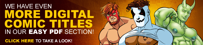 We have even MORE digital comic titles in our Easy PDF section!
