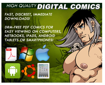 ... High Quality DRM-FREE Digital Erotic Gay Comics